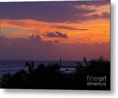 Cancun Lighthouse Metal Print by Halifax photographer John Malone