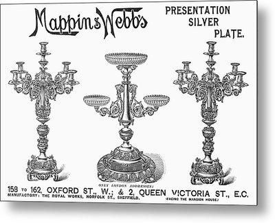 Candelabra, 1898 Metal Print by Granger