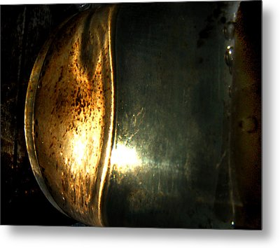 Candle Metal Print by Randal Bruck