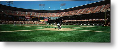 Candlestick Park San Francisco Ca Metal Print by Panoramic Images