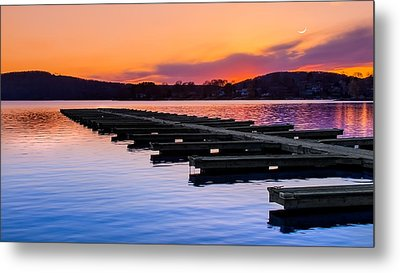 Candlewood Lake Metal Print