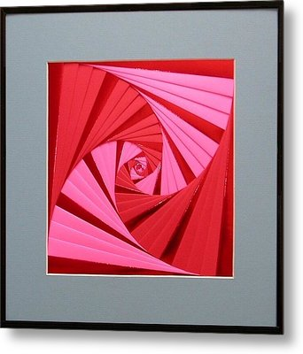 Candy Cane Metal Print