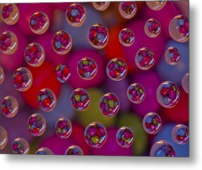 Candy Drops Metal Print by Brendan Quinn