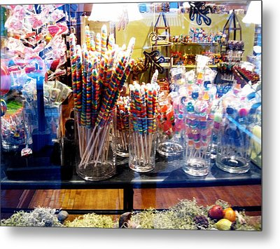 Candy Store 2 Metal Print by Will Boutin Photos