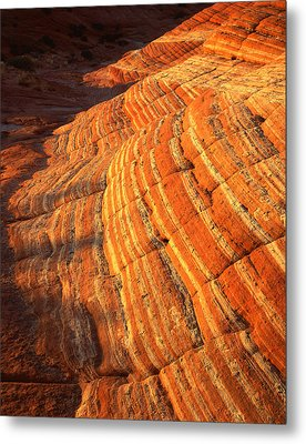 Candy Stripes II Metal Print by Ray Mathis