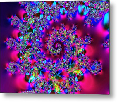 Candy Swirl Metal Print by Ian Mitchell