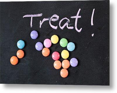 Candy Treat Metal Print by Tom Gowanlock