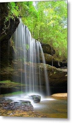 Caney Creek Falls Metal Print by Scott Moore