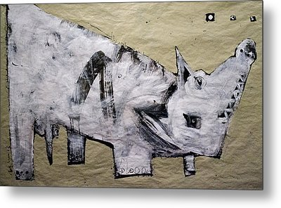 Canis Et Sidera Metal Print by Mark M  Mellon