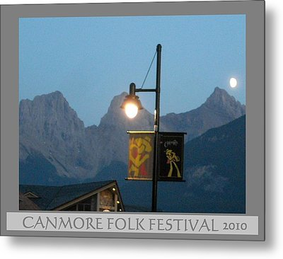 Canmore Folk Festival Metal Print by Cathy Long