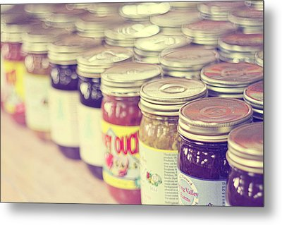 Canned Metal Print by Amy Tyler
