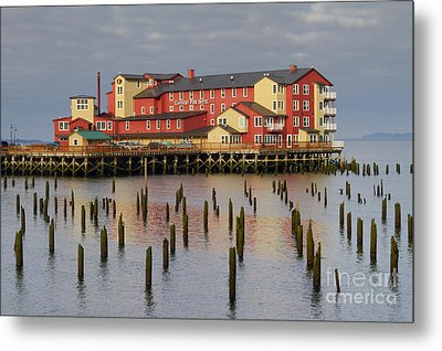 Cannery Pier Hotel Metal Print by Mark Kiver