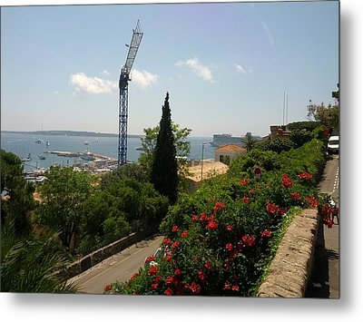 Cannes French Riviera IIi Metal Print by Shesh Tantry