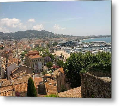 Cannes French Riviera Iv Metal Print by Shesh Tantry