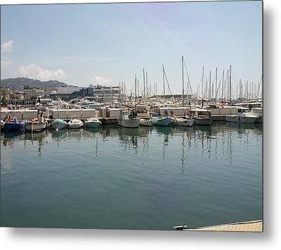 Cannes French Riviera Vi Metal Print by Shesh Tantry