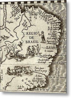 Cannibal Legends In Brazil Metal Print