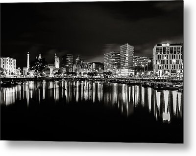 Canning Dock Liverpool Metal Print by Wayne Molyneux