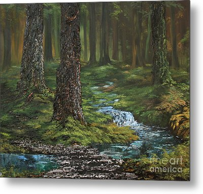 Cannock Chase Forest Metal Print