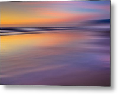 Cannon Beach Abstract Metal Print