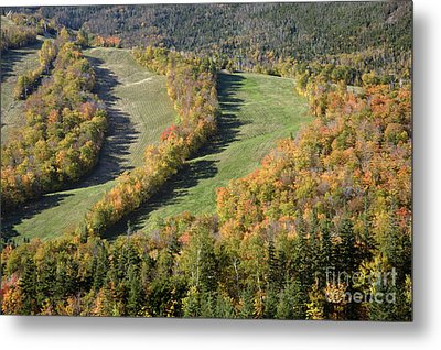 Cannon Mountain - White Mountains New Hanpshire Metal Print by Erin Paul Donovan
