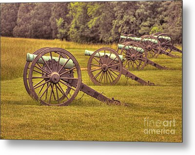 Cannon Row Metal Print