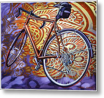 Metal Print featuring the painting Cannondale by Mark Howard Jones
