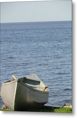 Metal Print featuring the photograph Canoe by Tiffany Erdman