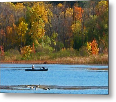 Canoer 2 Metal Print by Aimee L Maher Photography and Art Visit ALMGallerydotcom