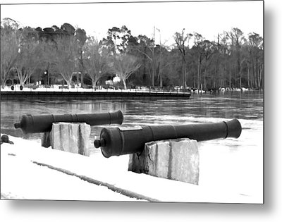 Canons Metal Print by Carolyn Ricks