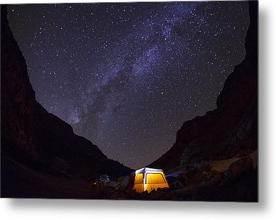 Canopy Of Stars Metal Print by Aaron Bedell