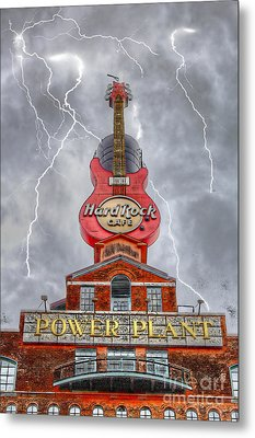 Can't Stop The Rock Metal Print by Dan Stone
