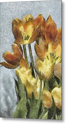 Can't Wait For Spring Metal Print by Trish Tritz