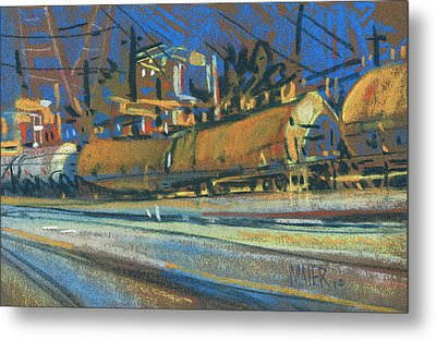 Canton Tracks Metal Print by Donald Maier