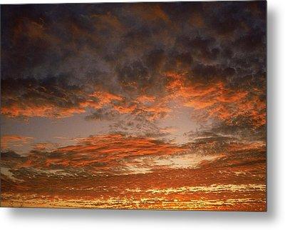 Canvas Sky Metal Print