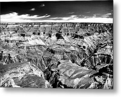Canyon Craters Metal Print by John Rizzuto