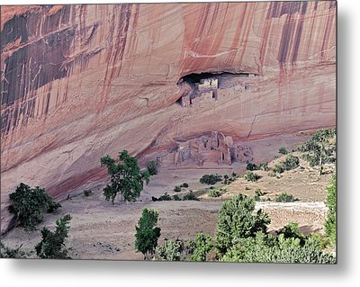 Canyon De Chelly Junction Ruins Metal Print