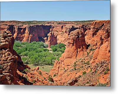 Canyon De Chelly - Tunnel Overlook Metal Print by Christine Till