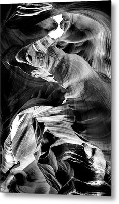 Canyon Flow Metal Print