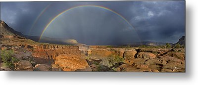 Canyon Of The Gods - Craigbill.com - Open Edition Metal Print by Craig Bill