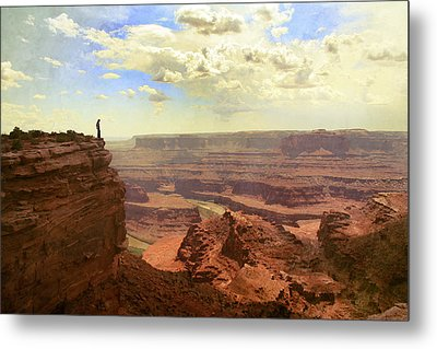 Canyon Metal Print by Cambion Art