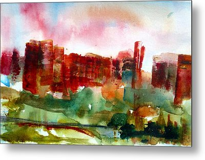 Metal Print featuring the painting Canyonlands 03 by Anne Duke