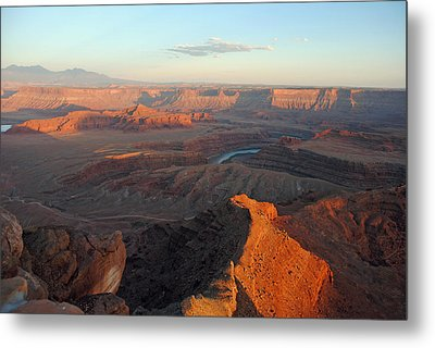 Metal Print featuring the photograph Canyonlands Np Dead Horse Point 21 by Jeff Brunton