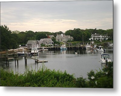 Metal Print featuring the photograph Cape Cod At Dusk by Suzanne Powers
