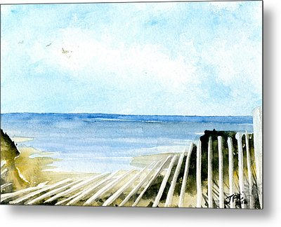 Cape Cod Bay Study #2 Metal Print