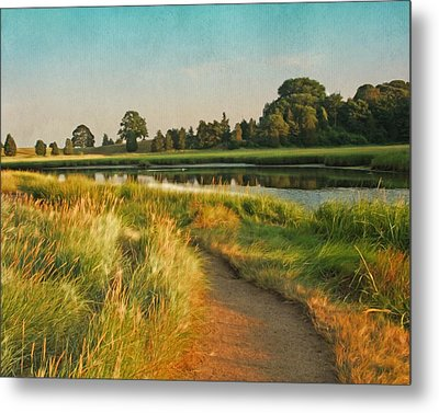 Cape Cod Eastham Eventide Number Two Metal Print by Brooke T Ryan