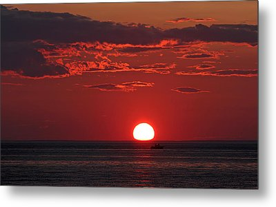 Cape Cod Fishing Metal Print by Juergen Roth