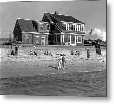 Cape Cod Home Metal Print by Underwood Archives