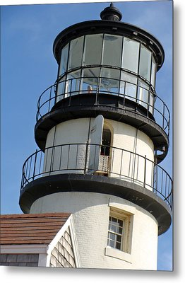 Metal Print featuring the photograph Cape Cod Lighthouse by Ira Shander