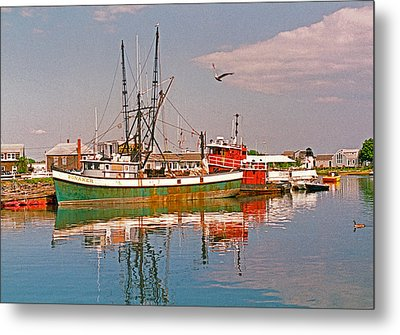 Cape Cod Scenic Metal Print by Suzanne Gaff