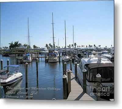Metal Print featuring the photograph Cape Coral Fl by Oksana Semenchenko